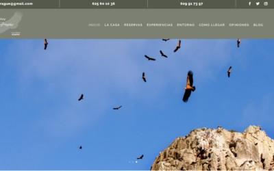 Diseño web para casa rural en Cáceres
