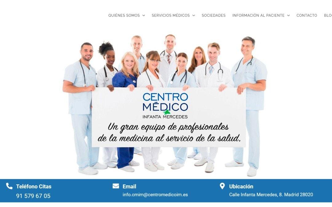Diseño web para clínica y Centro Médico en Madrid