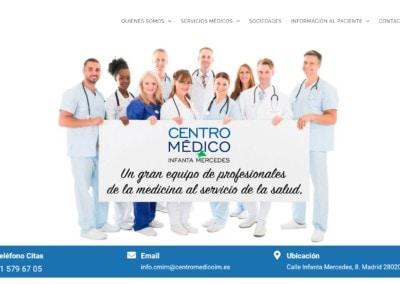 Web Centro Medico Madrid
