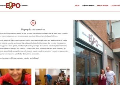 Web Churros Porras Vallevas Madrid