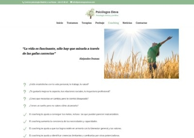 Web Coaching Psicologos Madrid