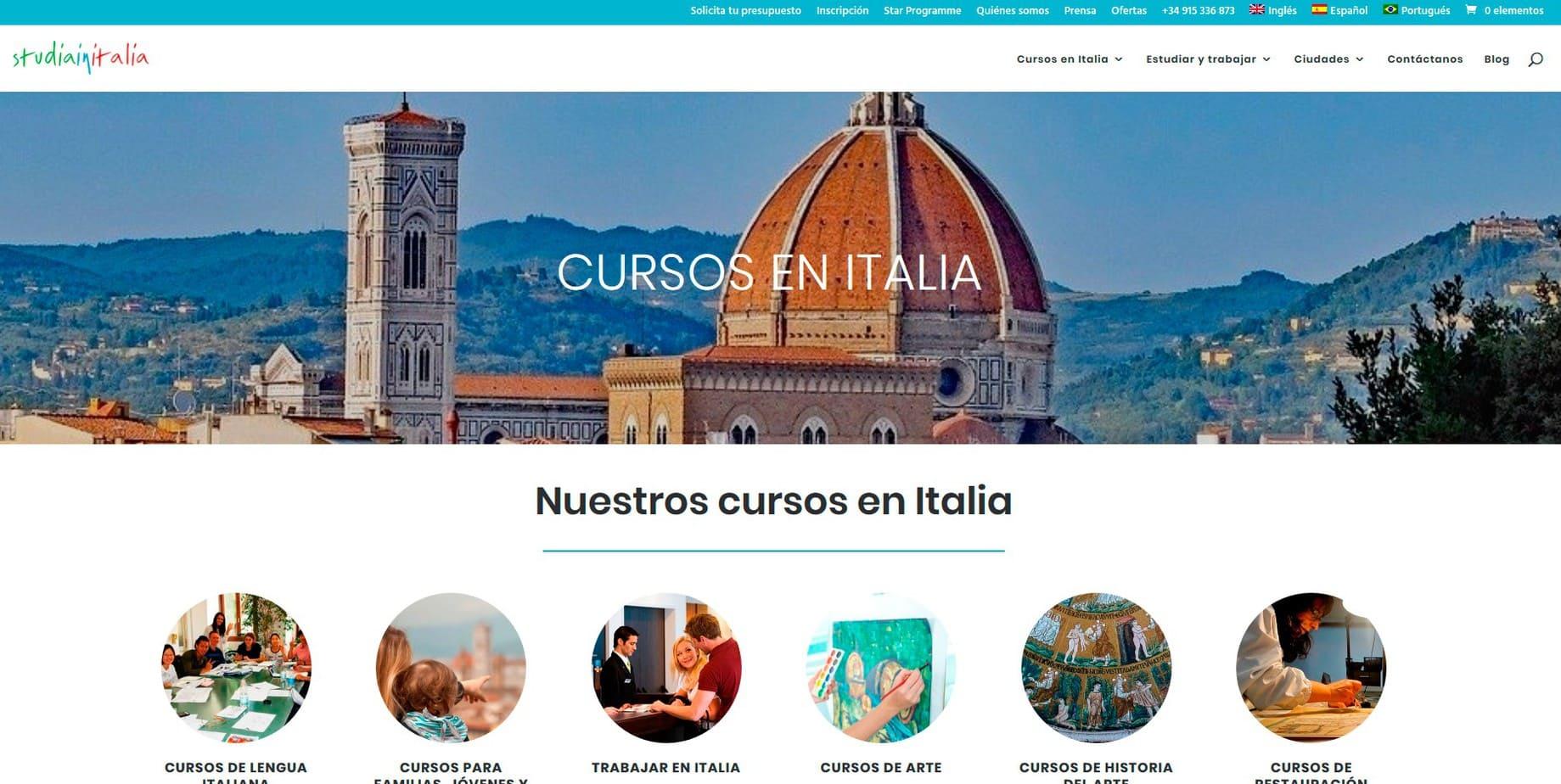 Web Cursos Italia
