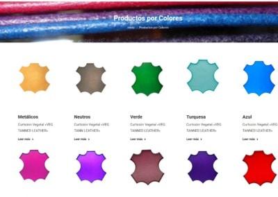 web curticion vegetal Diseño paginas web