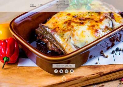 web diseno cafe restaurante madrid Diseño paginas web