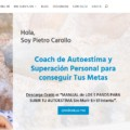 web diseno coaching autoestima Diseño paginas web