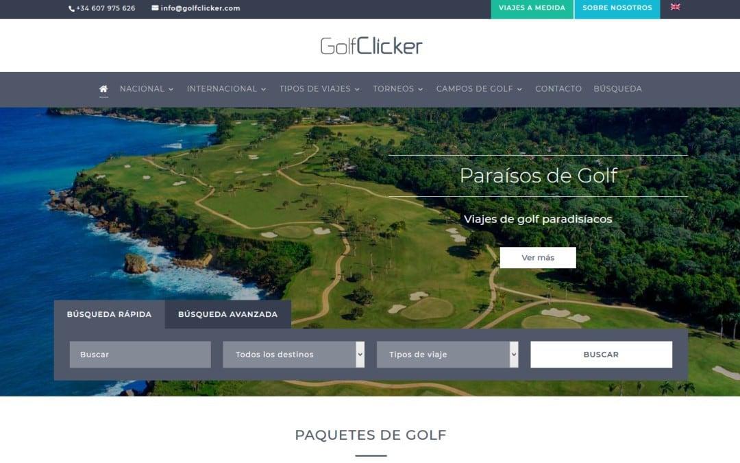 Diseño web para agencia de viajes especializada.
