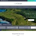 Web Diseno Viajes Golf Paraisos
