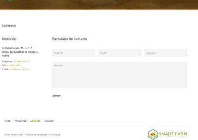 Web Empresa Gestion Granjas Madrid