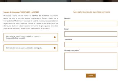 web empresa transportes diseno Diseño paginas web