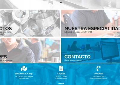 web fabricacion comercializacion tuercas asrandelas Diseño paginas web