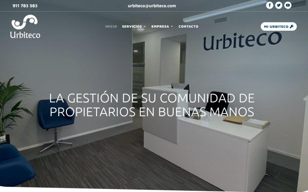 Diseño pagina web para empresa de Administración de Fincas