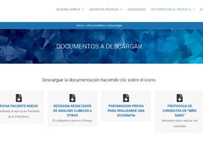 Web Madrid Centro Medico