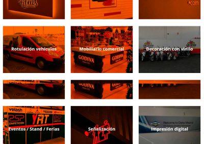 Web Madrid Empresa Rotulacion