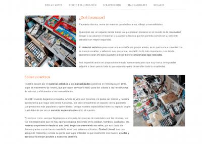 Web Madrid Productos Dibujo Online