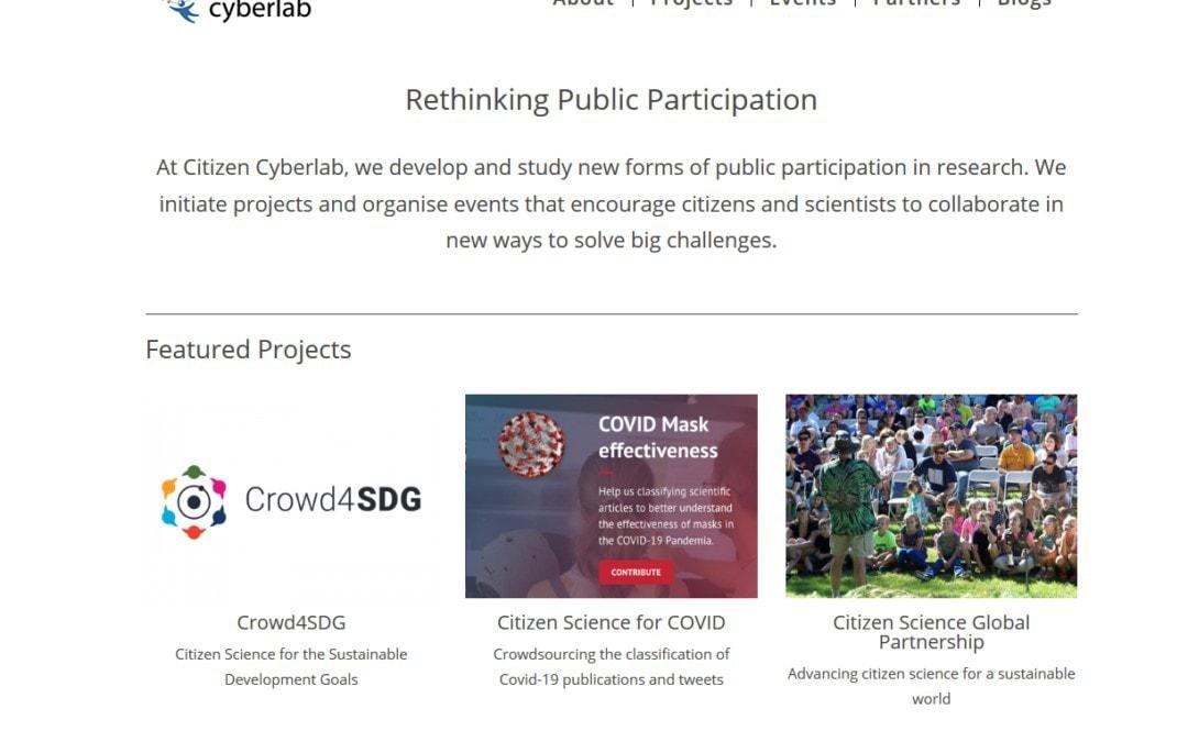 Diseño web para proyecto internacional universitario y de investigación