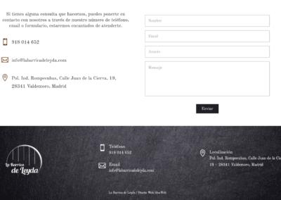 Web Madrid Restaurante Grupos Familias