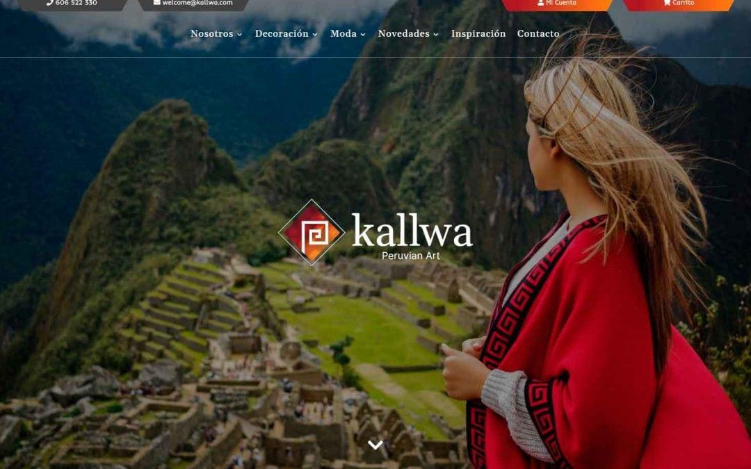 Diseño tienda online para artículos de artesanía local