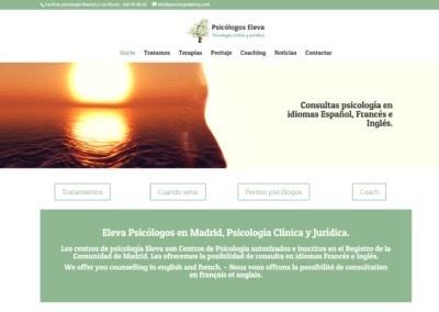 Web Pagina Psicologos Madrid