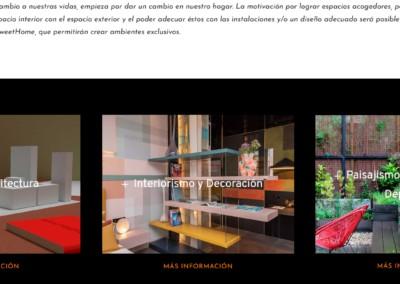 web proyectos soluciones viviendas negocios Diseño paginas web