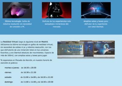 Web Realidad Virtual Madrid
