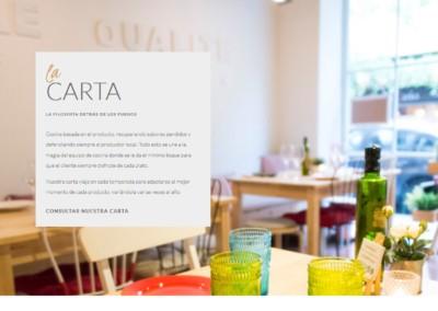 programacion web restaurantes