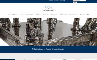 Diseño de tienda Online para venta de Productos Litúrgicos