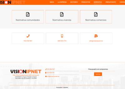 Web Videovigilancia Madrid Normativa