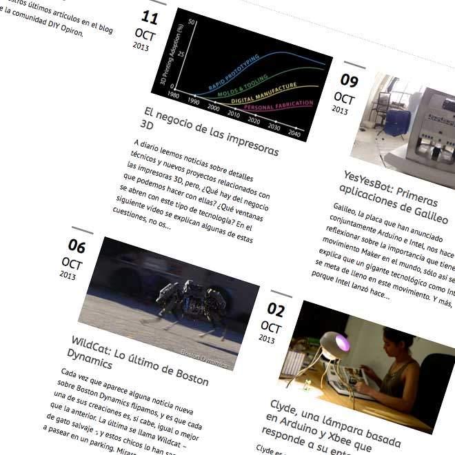 Diseño de página web para comunidad Open Hardware
