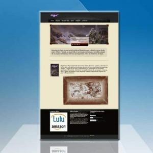 diseño web para escritores