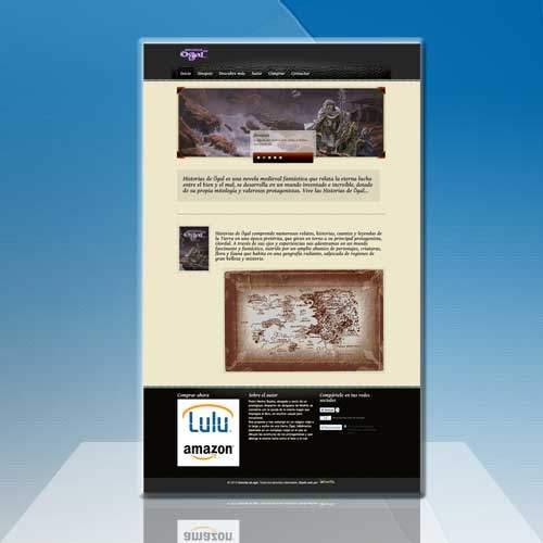 Diseño página web para libro