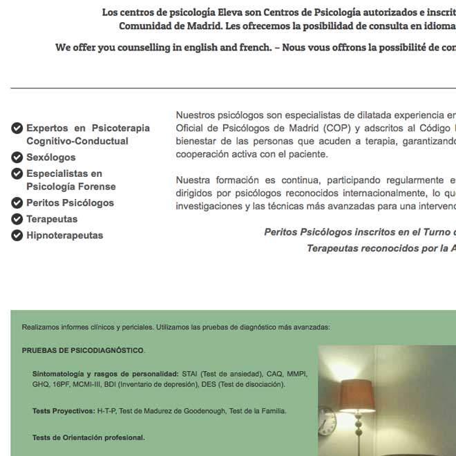 paginas web para psiquiatras forenses