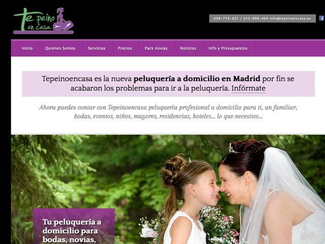 paginas web para domicilio