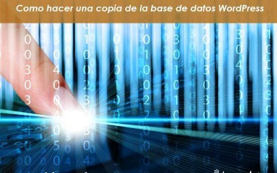 WordPress. Como hacer una copia de seguridad de tu base de datos MySQL o MaríaDB en WordPress.