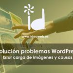 WordPress error imagenes