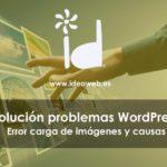 WordPress error imagenes