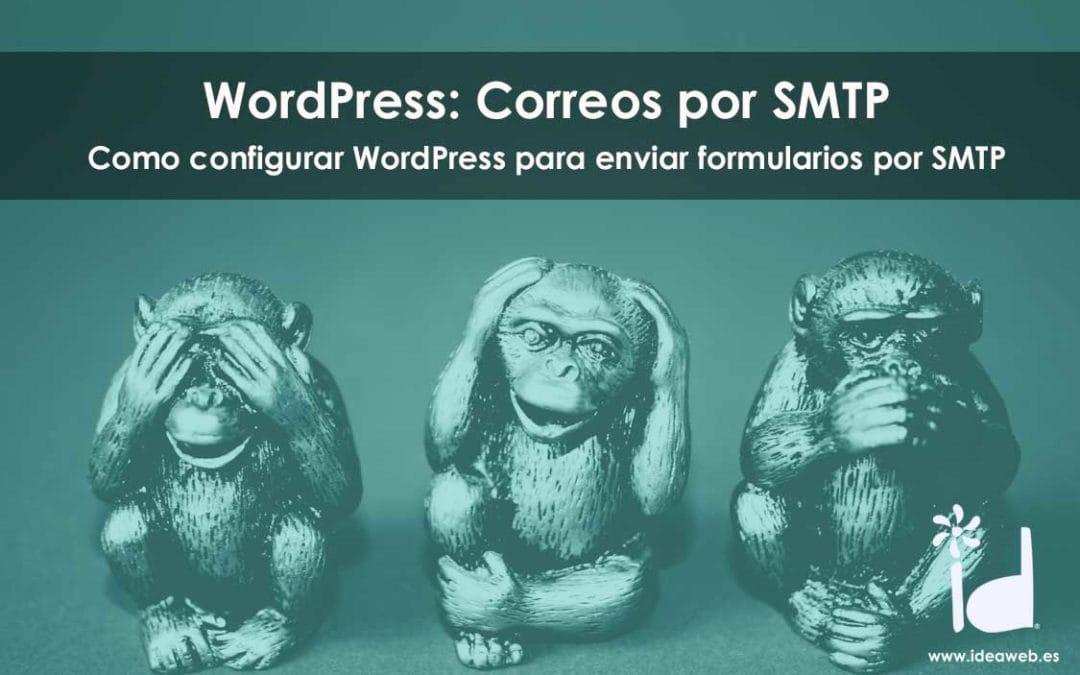 Cómo configurar WordPress para el envío de correos a través de SMTP
