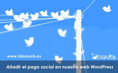 WordPress. Como colocar el pago por Tweet. Pagos por acción social de compartir en WordPress.