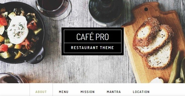tema wordpress restaurante